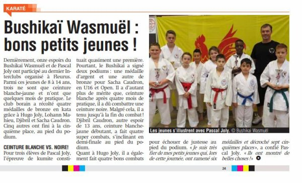 Point Presse Coupe de France 2018 à Amiens et Journal de Quaregnon