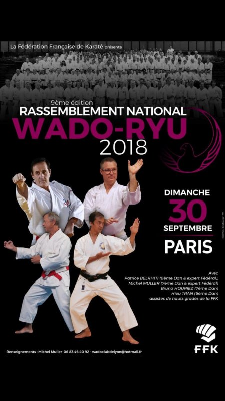 Rassemblement Wado 2018 Paris