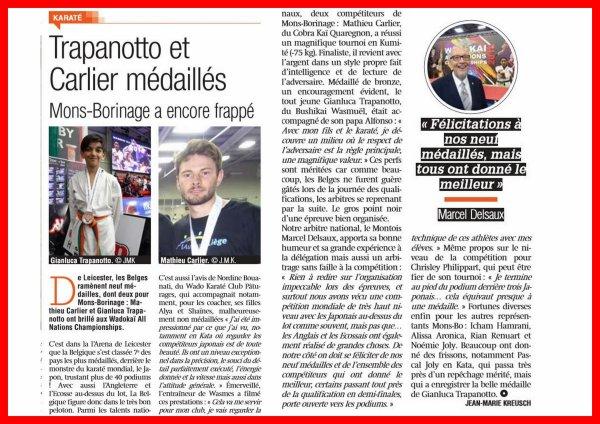 Article Presse , Septembre 2018