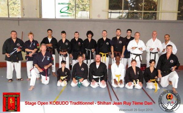 Stage KOBUDO au dojo Shihan Jean Ruy 7ème Dan