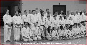 Stage International WADO KAI dirigé par SenseÏ Nukina à Hornu 5/10/18