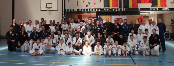 Stage d'arts martiaux multi-disciplinaires Open à Frasnes-les -gosselies 6/10/18