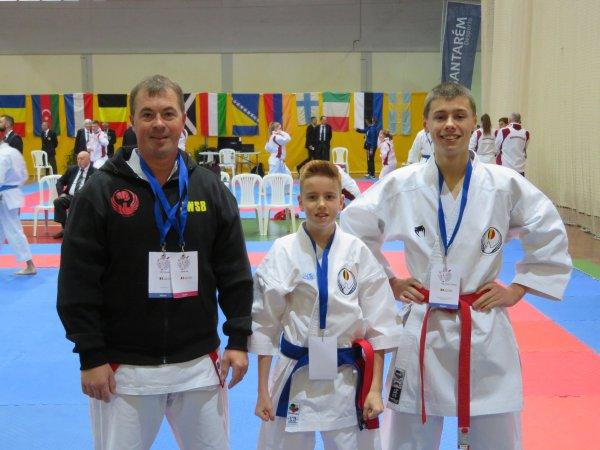 46ème Championnat d'Europe de Karaté Wado Kai 2018 au Portugal
