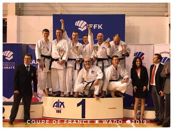 COUPE DE FRANCE WADO 2019 à Aix-les-Bains