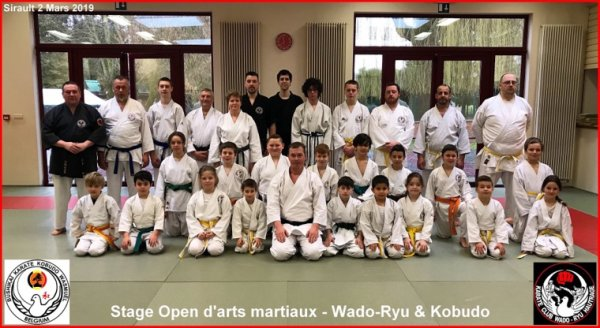 Stage Open d'arts martiaux Inter Club