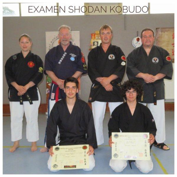 Examen Shodan Kobudo MAA