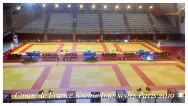 COUPE DE FRANCE DE KARATÉ à PARIS