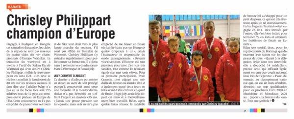 46ème Championnat d'Europe de Karaté Wadokai