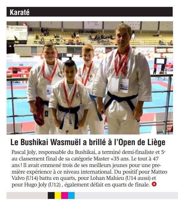 4ème Open International de Liège