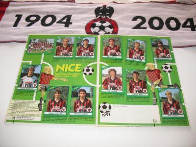 Panini football 1991 (incomplet)