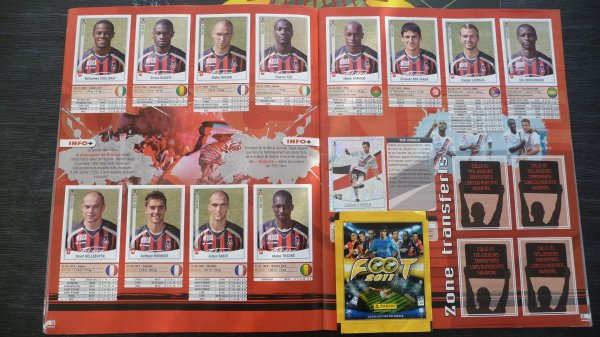 Panini football 2011 (complet)