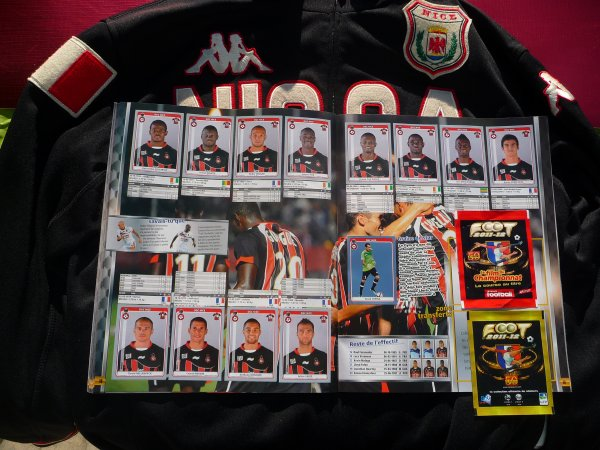 Panini Fooot 2011-12 (complet)