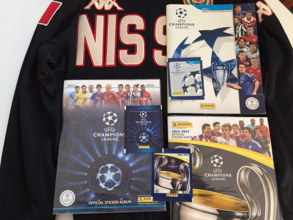 UEFA Champions league 2013 + 2014 + 2015 complets