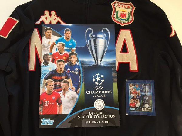 UEFA Champions league 2016 complet (Topps)