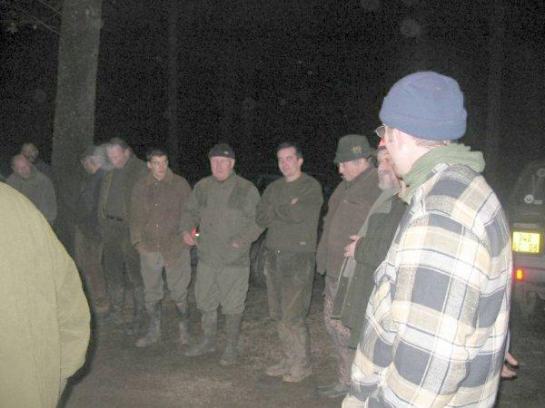 voici le rond de chasse le 18.01.2004