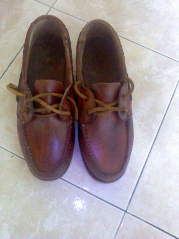 chaussures style Sébago 10e