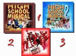 High School Musical 1,2&3