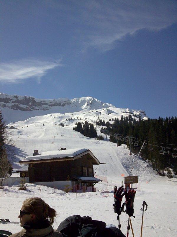 On ski ?