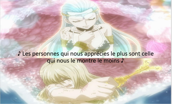 c'est pour l'amitié de Aquarius et Lucie