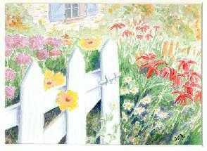 le jardin......