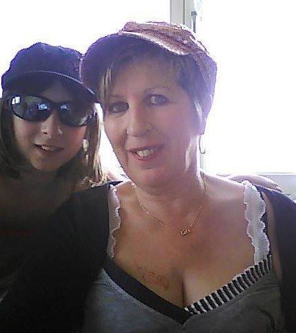Ma mère et ma p'tite soeur