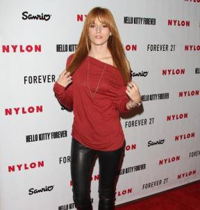 Look de Bella Thorne : A la soirée Hello Kitty
