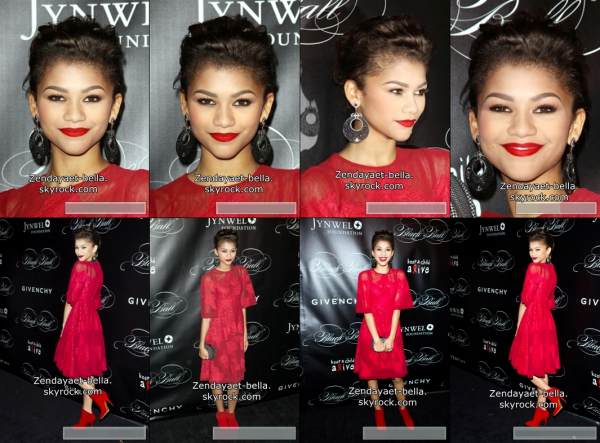 "26/10/2013 : Zendaya allée faire une performance à ""Dream Halloween"""