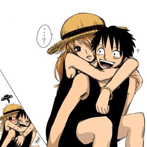 Luffy-And-Nami