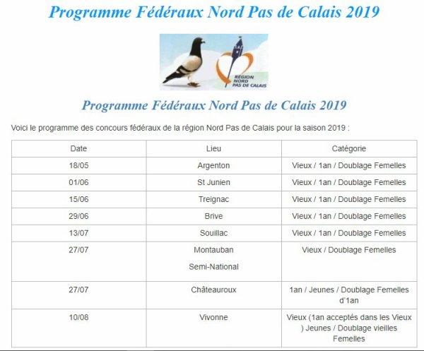 Federaux 2019