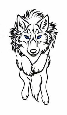 Tribal Loup Saut Darkarthe