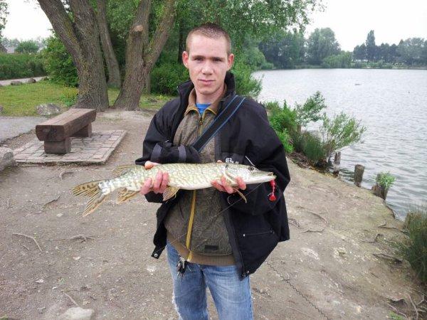 Enfin du fish 68cm hehe