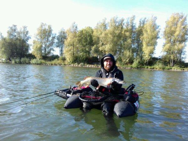 2eme sortie float avec greg : pike, perche