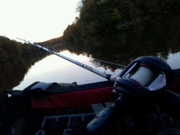 Etang de la galoperie float tube