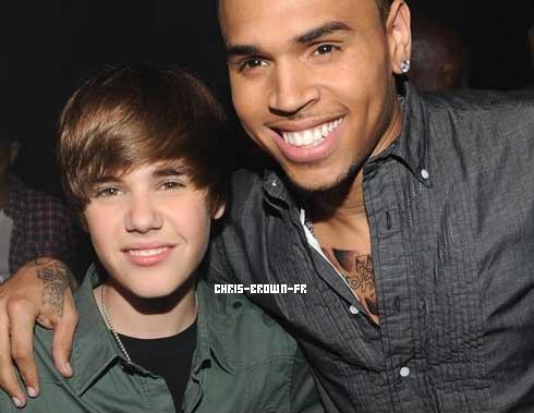 . .Justin Bieber En duo avec Chris Brown ? . .
