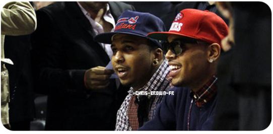 . .Chris Brown au match de Orlando Magic Vs Miami Heat . Chris Brown était hier soir à Miami pour assister au match de Basket de Son équipe préféré. Il s'est ensuite Rendu au Club Play à Miami pour l'after party. . .