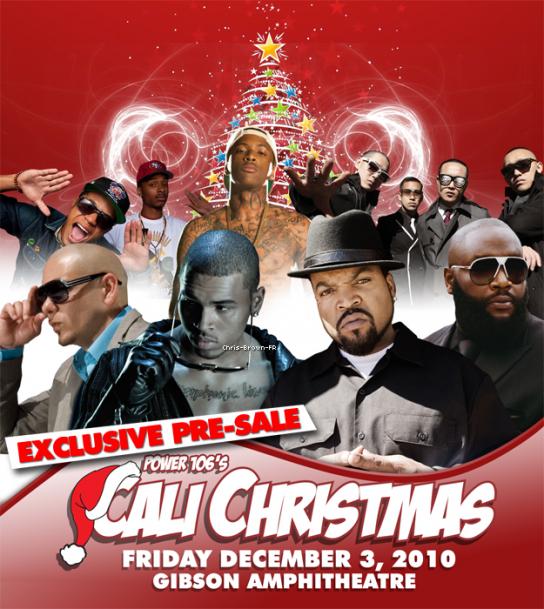 . Chris Brown au Cali Christmas. . . Chris-Brown-FR s'affilie avec akon-officiel-akon & Avec Usher-Raymond-Beautiful