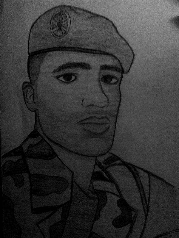 Dessin 2013 ! Militaire