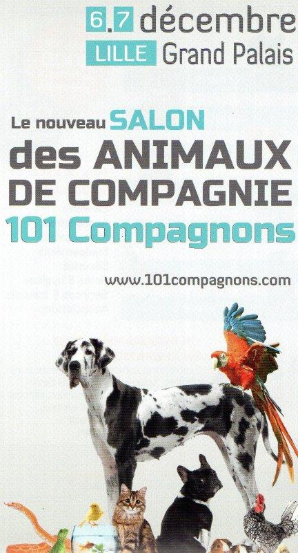 SALON DES ANIMAUX DE COMPAGNIE