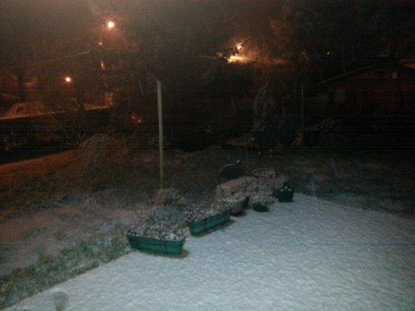 Il neige sur Houplines