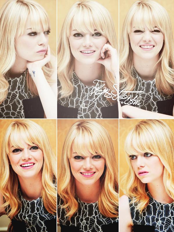 10/03/2013 : Découvrez des photos d' Emma  lors d'une conférence de presse organisée pour The Croods.
