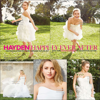 C'est en robe de mariée, que Hayden P. apparaît dans le magazine « Brides » - édition Avril 2014.