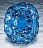 Ayant appartenu à l'infante d'Espagne, un diamant bleu «Wittelsbach » de 35,56 carats s'est vendu à 19 millions d'euros
