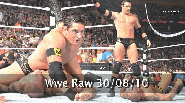 Résultats  de Wwe Raw 30/07/10