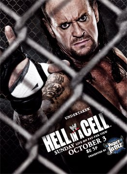 Wwe Hell in a Cell & Bragging Right Poster