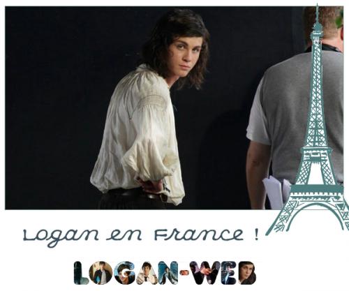 **  Après l'Allemagne, c'est la France ! * Logan viendra surement en France, pour le tournage des 3 Mousquetaires, dès que j'ai plus d'infos, je vous les ferais parvenir ^^ **