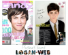 **  Des scans de plusieurs magasines, dont Logan tient soit la couverture ou une page. J'ai une préfèrence pour celui de droite, c'est un nouveau shoot   $) Et vous ?  **