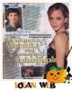 *   Logan partage une page avec Emma Watson, c'est une page du célèbre magasine Bravo, qui doit être surement d'un pays de l'Est vu les écritures ! Es en rapport avec The Perks of being a Wallflower ? *
