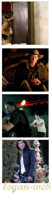 ** Logan nous aura tout fait comme genre de film :**