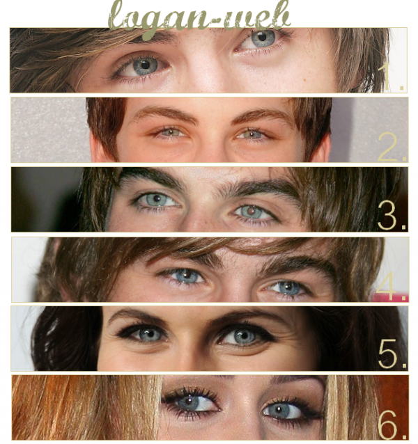 **  Qui a les plus beaux yeux ? * Mais surtout, a qui appartient ces yeux ? **