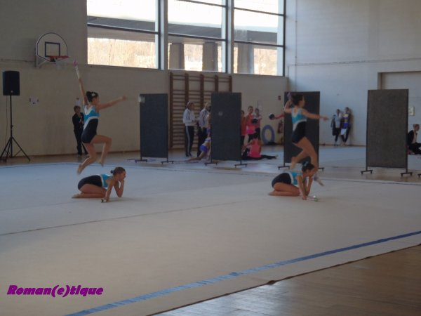 1.Compétition Départementale (Vosges)  Ensemble 5 février 2012